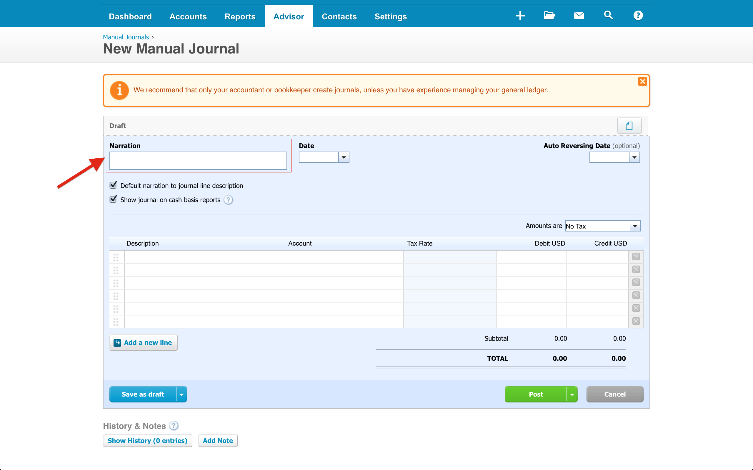 Xero Things Your Xero Journal Entries Are Missing - Send invoice to customer journal entry