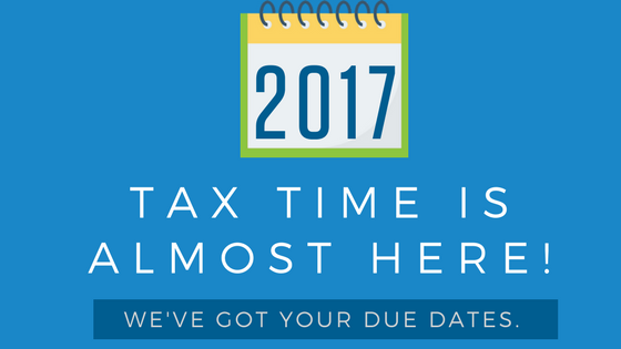 2017 IRS Tax Due Dates- The Ultimate Guide