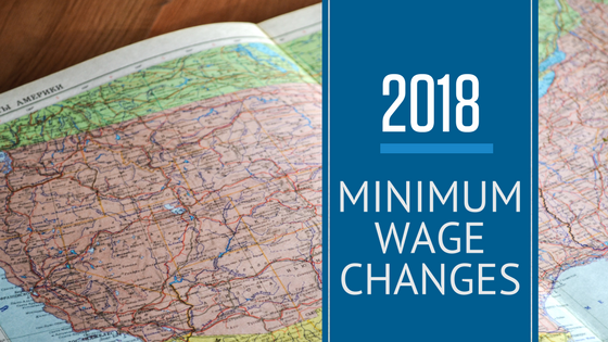 2018 State, City, and County Minimum Wage Changes